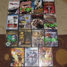 12 jocuri/joc PC-bucata:Pirates, Conan, Rayman, Kart, Jacked, moto Racing, Schumacher