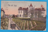CARTE POSTALA ELVETIA - LAUSANNE - HOTEL ROYAL - 1910, Circulata, Printata