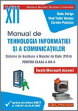 Boriga Popescu Manual de tehnologia informatiei si a comunicatiilor cls. 12