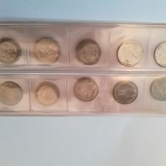 10 monede argint, Europa