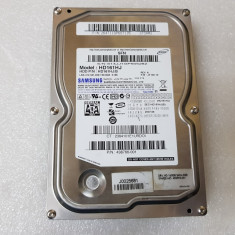 Hard disk HDD Samsung 160GB 8MB 7200rpm SATA2 HD161HJ - teste reale, 100-199 GB