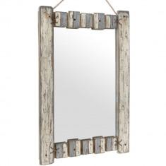 Oglinda din lemn Skyros - Oglinda living