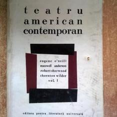 Teatru american contemporan vol. I - Carte Teatru