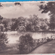 CARTE POSTALA ROMANIA - SIBIU (HERMANNSTADT) - LACUL DUMBRAVII - 1942