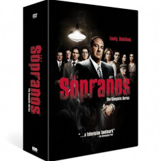 FILM SERIAL The Sopranos - The Complete Series [28 DVD] Box Set Sigilat