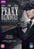 FILM Serial Peaky Blinders DVD Box Set Seasons 1-4 Complete Collection Sigilat, Engleza, independent productions