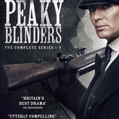 FILM Serial Peaky Blinders DVD Box Set Seasons 1-4 Complete Collection Sigilat - Film Colectie independent productions, Engleza