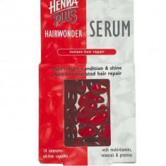 Capsule cu Ser HennaPlus cu Vitamine si Minerale 14 mg - Tratament par