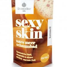 Spumant de Baie DermaSel SPA Sexy Skin cu Aroma de Caramel 45 ml