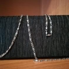 Plic negru elegant - Geanta Dama H&M, Marime: Medie