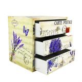 Caseta Bijuterii Lemn CARTE POSTALE WZ1552
