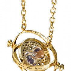 Pandantiv Medalion Lantisor Harry Potter clepsidra Time Turner