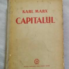 K. Marx - Capitalul vol. I - Procesul de productie a capitalului - Carte Economie Politica