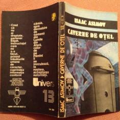 Caverne De Otel - Isaac Asimov - Carte SF, An: 1992