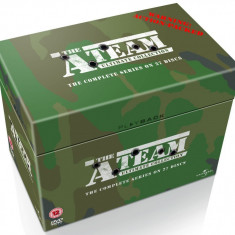 FILM SERIAL The A-Team ( Echipa de Soc ) Collection [27 DVD] Box Set Sigilat - Film Colectie independent productions, Engleza