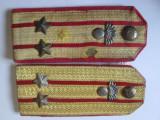 Epoleti Lt.Colonel infanterie R.P.R. din anii 50