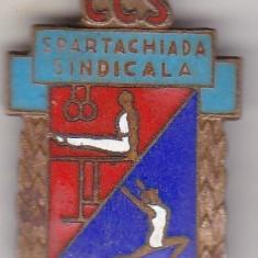 Insigna CCS Spartachiada Sindicala