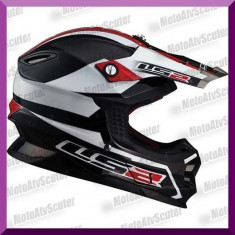 CASCA ENDURO LS2 MX456 LAUNCH - Casca moto LS2, Marime: S