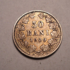 50 bani 1900 Frumos - Moneda Romania