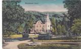 BISTRITA PARCUL CENTRAL,NECIRCULATA 1917,ROMANIA.