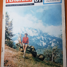 revista flacara 11 septembrie 1965-articol despre vasile alecsandri