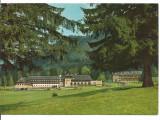 (A) carte postala(1584/5)-KRUGER-Poiana Brasov -Hotel Sport, Necirculata, Printata