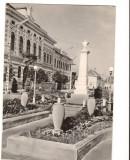 CPI B 10379 - CARTE POSTALA - SANNICOLAU MARE. MONUMENTUL EROILOR SOVIETICI, RPR, Circulata, Fotografie