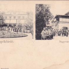 ORADEA, BAILE 1 MAI, LITHO!, CIRCULATA 1900, ROMANIA. - Carte Postala Crisana pana la 1904, Fotografie