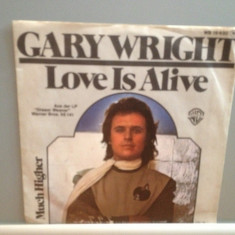 GARY WRIGHT(SPOOKY TWO) - LOVE IS ALIVE (1976/WARNER/RFG) - VINIL Single/RAR/NM - Muzica Rock