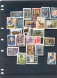 URSS-1957-RUSIA-URSS-Lot de timbre nestampilate cu urme de SARNIERA, Nestampilat