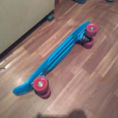 Vand Penny Board D-Street Albastru. - Skateboard, Marime: 50