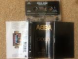 Abba gold greatest hits caseta audio muzica pop dance compilatie best of hituri, Casete audio, Polydor