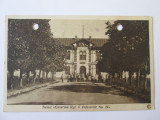 Carte postala Tecuci 1926,cazarma Reg.6 infanterie,viitoarea scoala de pilotaj