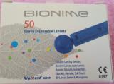 40 Ace sterile pentru glucometru Bionime, noi