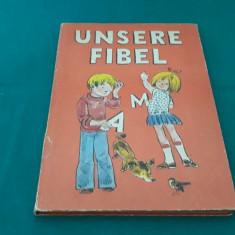 UNSERE FIBEL*ABECEDARUL NOSTRU/ 1976, Abecedar, Limbi straine