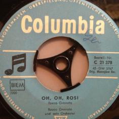 ROCCO GRANATA - E'PRIMAVERA/OH OH ROSI (1959/COLUMBIA/RFG) - VINIL Single/RAR - Muzica Pop