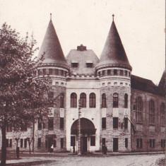 SIGHETUL MARMATIEI,CENSURAT K.U.K.RESERVESPITAL,CIRCULATA 1916,ROMANIA., Fotografie, Sighetu Marmatiei