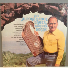 Alfons Bauer plays Harp - Under Spain Sun (1971/EMI/RFG) - VINIL/SIGILAT-NOU