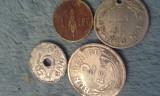 25 BANI 1921+CADOU 1,2 LEI 1924,1 LEU 1938
