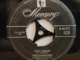 THE DIAMONDS  - LITTLE DARLIN'/FAITHFULL...(1959/MERCURY/RFG) - VINIL Single/RAR, universal records