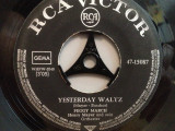 PEGGY MARCH - YESTERDAY WALTZ/WEDDING IN ...(1964/RCA/RFG) - VINIL Single/RAR, rca records