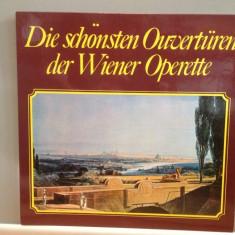 THE MOST BEAUTIFUL OUVERTURES - VIENNESE OPERETTA (1971/BMG/RFG) - VINIL/ca NOU - Muzica Opera emi records