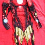 Costum petrecere copii Disney Iron Man 122 6-8 ani original H&M impecabil