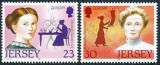 Jersey 1996 - Europa cept 2v.neuzat,perfecta stare(z), Nestampilat