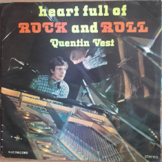 Heart full of Rock and Roll Quentin Vest, VINIL, electrecord