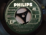 JOHNNY HALLYDAY - NOIR C'EST NOIR.....(1968/PHILIPS/FRANCE) - VINIL Single/RAR