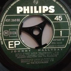 JOHNNY HALLYDAY - NOIR C'EST NOIR.....(1968/PHILIPS/FRANCE) - VINIL Single/RAR