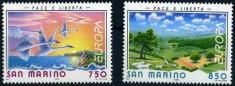 San Marino 1995 - Europa cept 2v.neuzat,perfecta stare(z) foto
