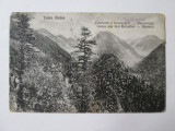 Carte postala Valea Bulea/Muntii Fagaras circulata 1927