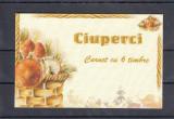 ROMANIA 2003 LP1616 b CIUPERCI COMESTIBILE SI OTRAVITOARE  TRIPTIC IN CARNET MNH, Nestampilat